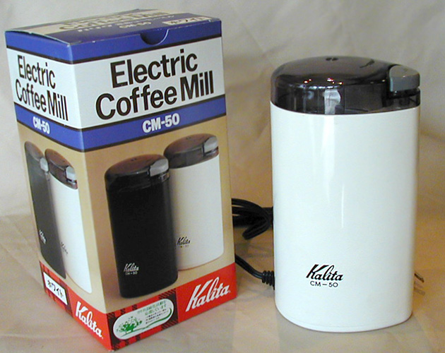電動コーヒーミルkalita
